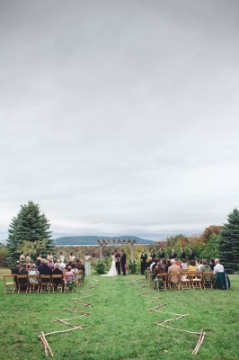 Swoony Snow Moon Ranch Wedding Along Lake Michigan In Rich Earthy Tones | Photograph by Dan & Melissa Photgraphy