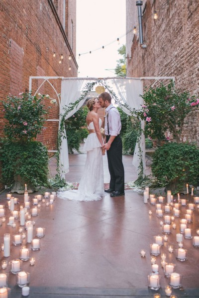 Bohemian Sunrise Wedding In Neutral Colors Featuring Suspended Crepe Cakes, Pillow Seating, Rickshaws & So Much More   Photography by A Darling Day  http://storyboardwedding.com/bohemian-sunrise-wedding-neutral-palette-crepe-cake-rickshaw/