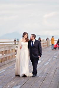 Sweet British Columbia Winter Wedding Nestled Along The Shores Of The Pacific Ocean