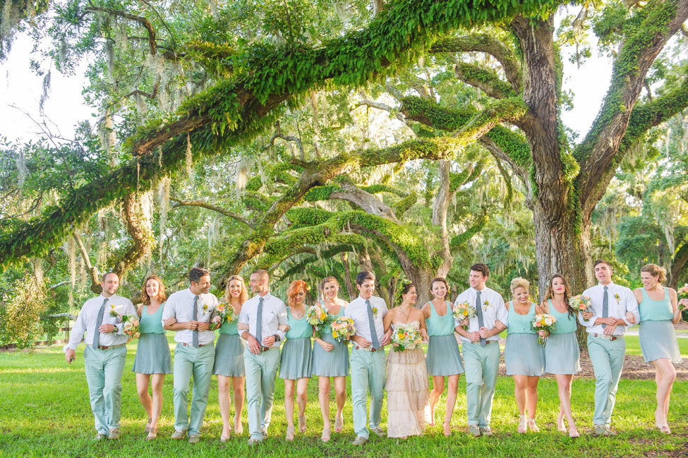 Rustic Bohemian Summer Charleston South Carolina Wedding At Boone Hall Plantation Photograph By Priscilla Thomas