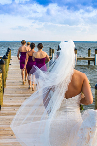 Rehoboth Beach Country Club Wedding In Strong Purples & Bright Greens Kissed By Mother Nature's Touch | Photograph by Bartlett Pair Photography  http://storyboardwedding.com/rehoboth-beach-country-club-wedding-in-strong-purples-bright-greens-kissed-by-mother-natures-touch/