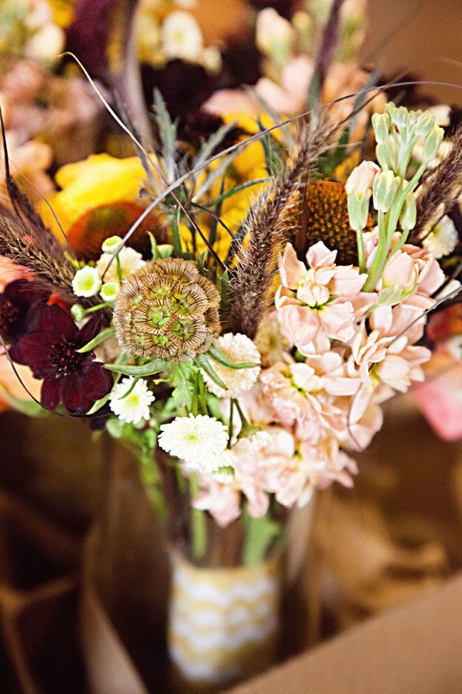 Fall Rustic Glam Nashville Wedding In Earthy Colors of Brown, Cream, Navy & Orange | Photograph by BSG Photography  http://storyboardwedding.com/fall-nashville-rustic-glam-wedding/