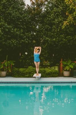 Flirty Retro Swimwear Honeymoon Inspiration From Boho To Mod   Photograph by Carolyn Scott Photography  http://storyboardwedding.com/flirty-retro-swimwear-honeymoon-inspiration/