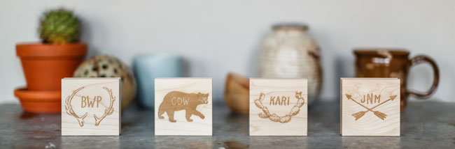 Sycamore Street Press Custom Monogram Stamps