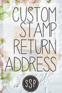 A Better Way To Do Return Addresses On Wedding Invitations & Sycam...