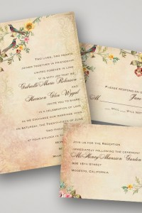 {Sponsored Love} Invitations By Dawn Inspired New Vintage Wedding Invi...