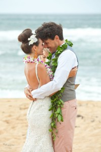Technicolor Tropical Destination Wedding In Wainiha Bay Kauai Hawaii