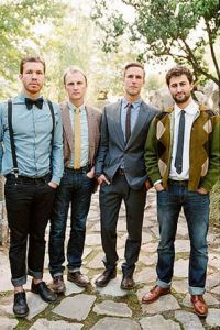 Why It Works Wednesday: Dressed Up Casual Groomsmen