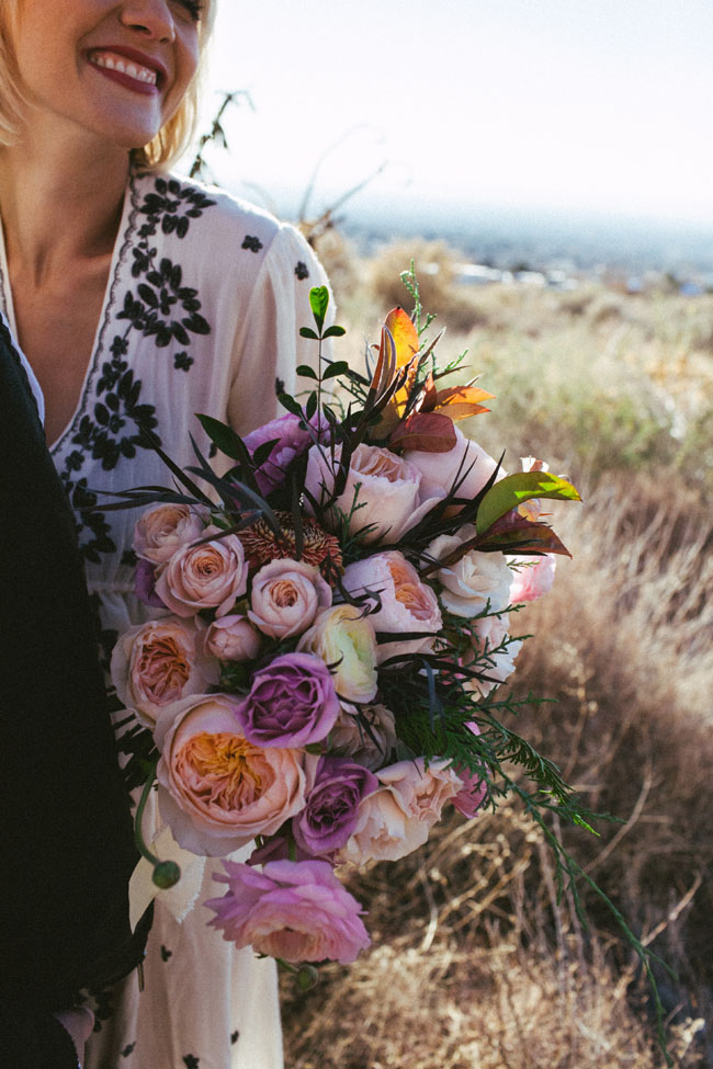 Free Spirited Boho Chic Albuquerque New Mexico Elopement | Photograph by Latisha Lyn Photography  https://storyboardwedding.com/free-spirited-boho-chic-albuquerque-new-mexico-elopement/