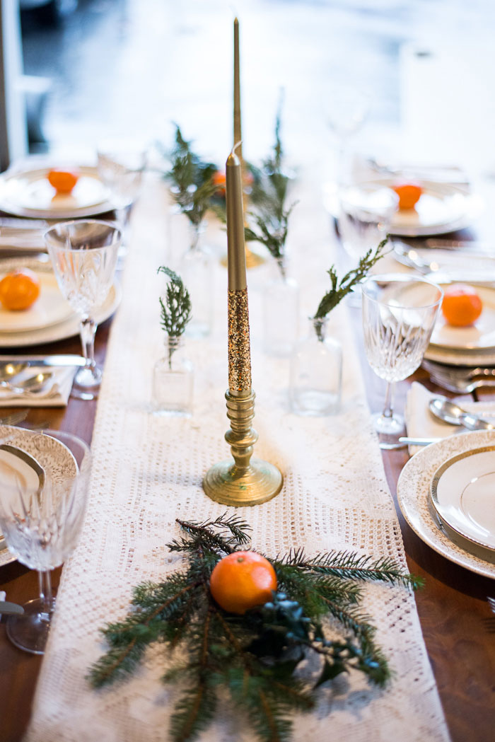 Rustic Glam Winter Wedding Infused With Oranges & Sprigs Of Evergreen | Photograph by Addie Eshelman Photography  https://storyboardwedding.com/rustic-glam-winter-wedding-infused-oranges-sprigs-of-evergreen/