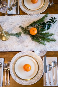 Rustic Glam Winter Wedding Infused With Oranges & Sprigs Of Evergr...