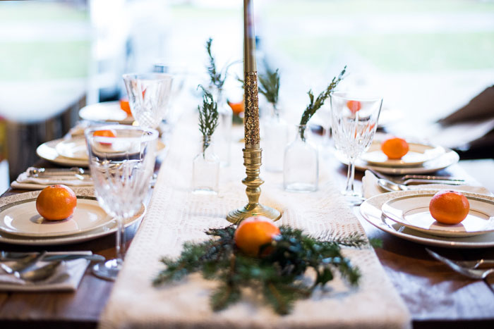 Rustic Glam Winter Wedding Infused With Oranges & Sprigs Of Evergreen | Photograph by Addie Eshelman Photography  http://storyboardwedding.com/rustic-glam-winter-wedding-infused-oranges-sprigs-of-evergreen/