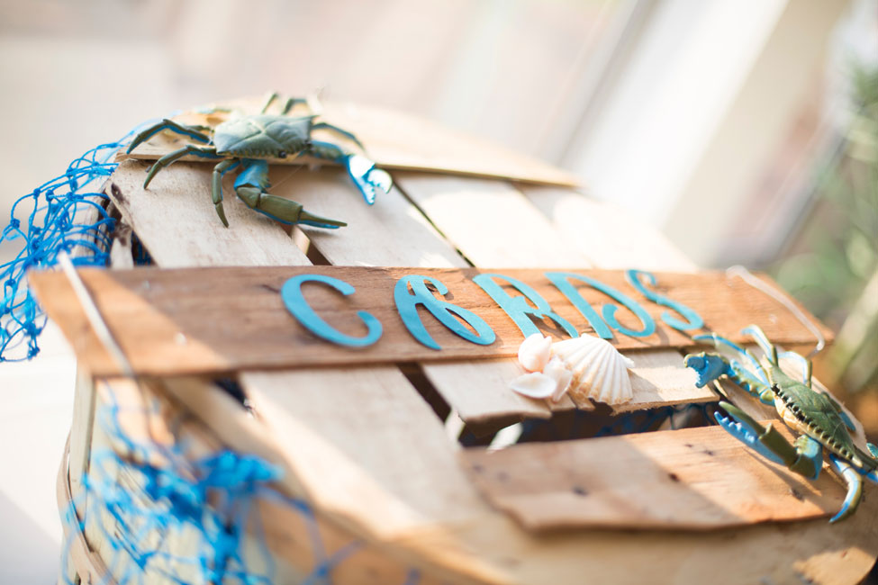 Classic Beach Chic Wedding In Mixed Ocean Hues Along The Chesapeake Bay | Photograph by Tori Nefores Photography  http://storyboardwedding.com/classic-beach-chic-wedding-mixed-ocean-hues-chesapeake-bay/