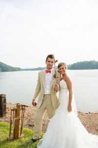 Scrumptious Down Home Lakeside South Carolina Wedding Featuring Reinve...