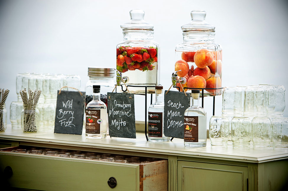 Scrumptious Down Home Lakeside South Carolina Wedding Featuring Reinvented Desserts | Photograph by Lisa Carpenter Photography  http://storyboardwedding.com/down-home-lakeside-south-carolina-wedding-reinvented-desserts