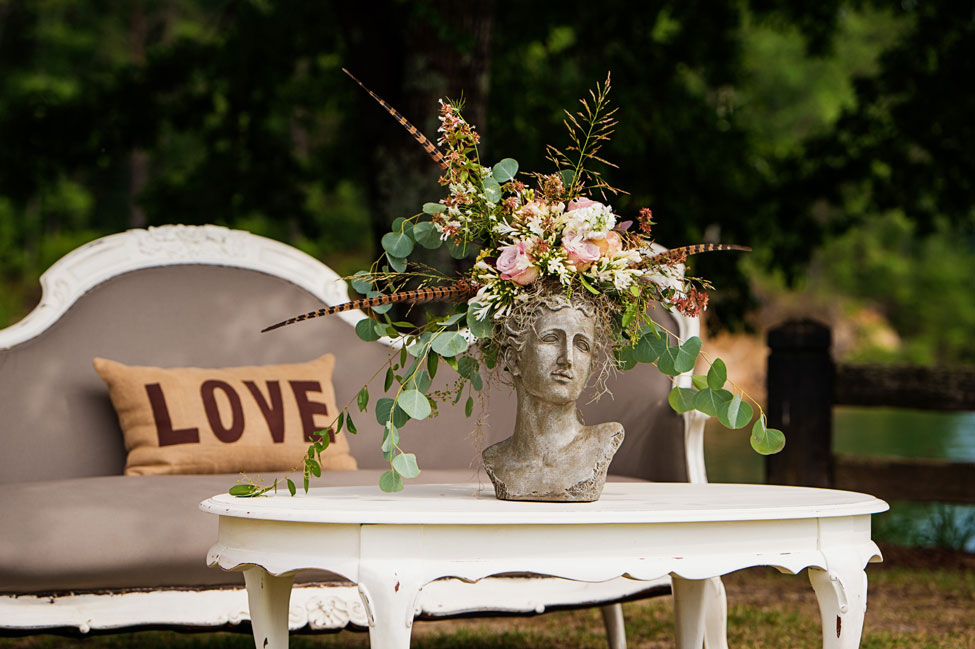 Scrumptious Down Home Lakeside South Carolina Wedding Featuring Reinvented Desserts   Photograph by Lisa Carpenter Photography  https://storyboardwedding.com/down-home-lakeside-south-carolina-wedding-reinvented-desserts