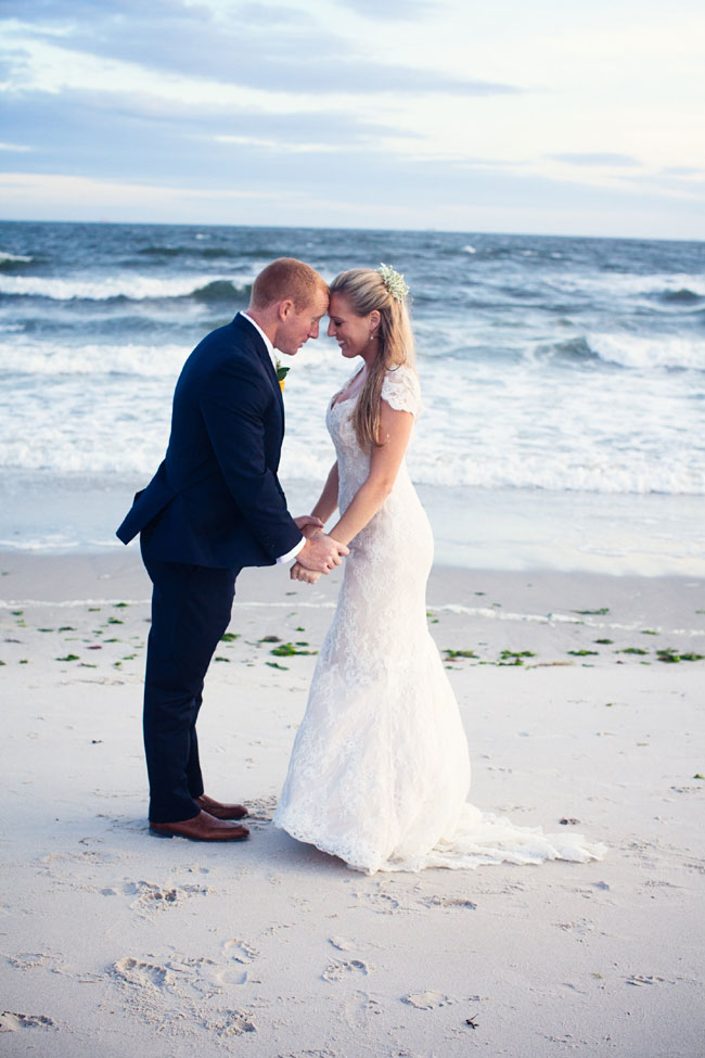 Classic Beach Wedding In Navy & Yellow Along The Shores Of Long Beach New York | Photograph by Martina Micko Photo  http://storyboardwedding.com/classic-beach-wedding-navy-yellow-long-beach-new-york/