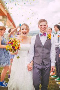 Summer Sweet British Columbia Wedding With Vintage Touches & Fanta...