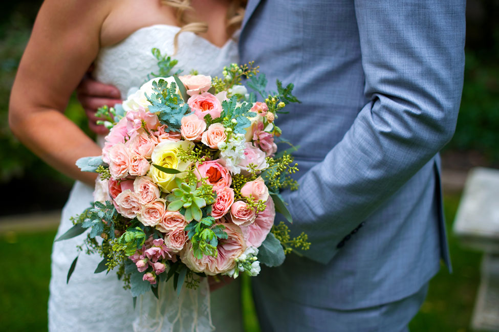 Romantic Canadian Estate Outdoor Garden Wedding In Pink & Lace | Photograph by Photos by Krista  http://storyboardwedding.com/romantic-estate-outdoor-garden-wedding-pink-lace/