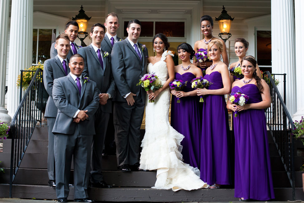 Feast at Round Hill Wedding With Color Of The Year Radiant Orchid Inspiration | Photograph by Matt Versweyveld  http://storyboardwedding.com/feast-at-round-hill-wedding-with-color-of-the-year-radiant-orchid-inspiration/