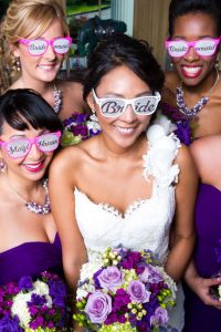 Feast at Round Hill Wedding With Color Of The Year Radiant Orchid Insp...