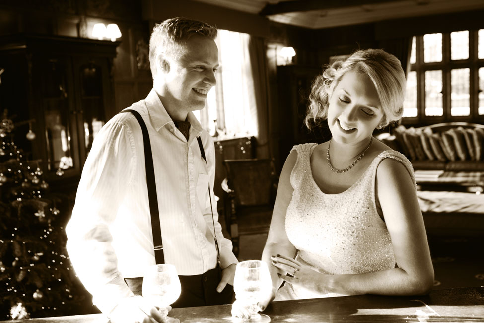 The Essence Of The Silent Movie Captured In This Woodhall Manor Engagement Session | Photograph by PJA Photography  https://storyboardwedding.com/silent-movie-woodhall-manor-engagement-session/