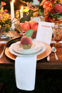 Glamorous Southern Wedding With Rustic Touches Dripping In Lush Peach Hues  | Photograph by Amy Clifton Keely Photography  http://storyboardwedding.com/glamorous-southern-wedding-rustic-touches-dripping-lush-peach-hues/