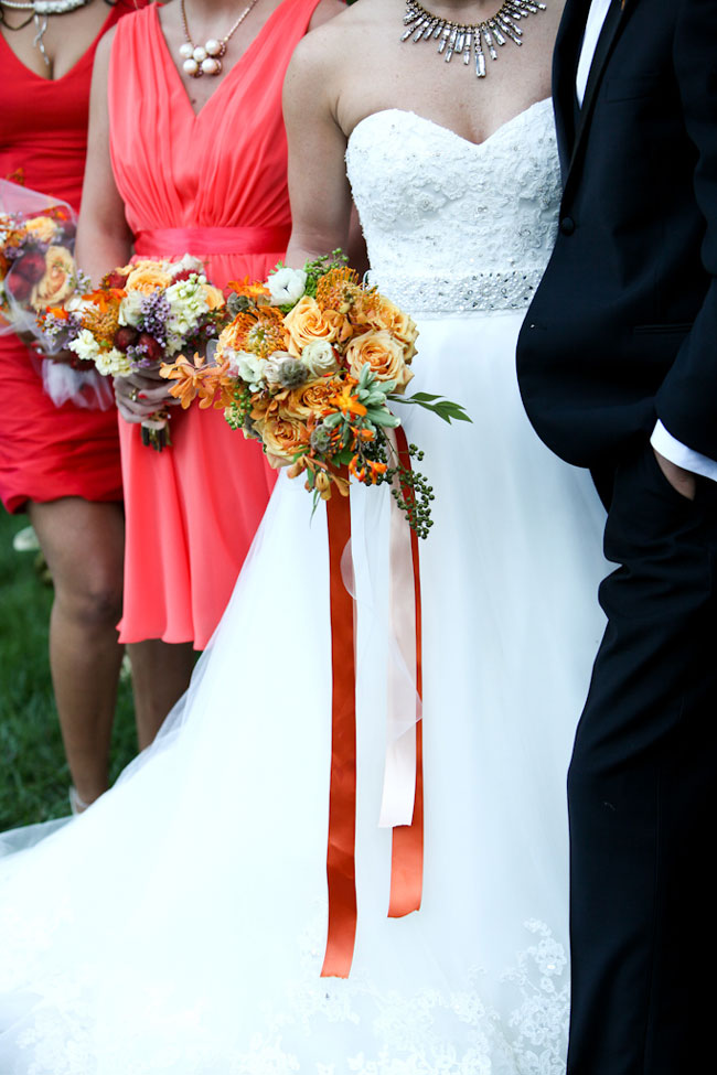 Glamorous Southern Wedding With Rustic Touches Dripping In Lush Peach Hues  | Photograph by Amy Clifton Keely Photography  https://storyboardwedding.com/glamorous-southern-wedding-rustic-touches-dripping-lush-peach-hues/