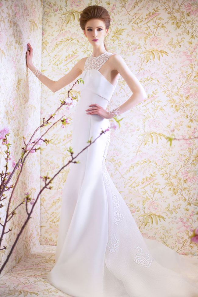 ANGEL SANCHEZ BRIDAL SPRING 2015 N11004