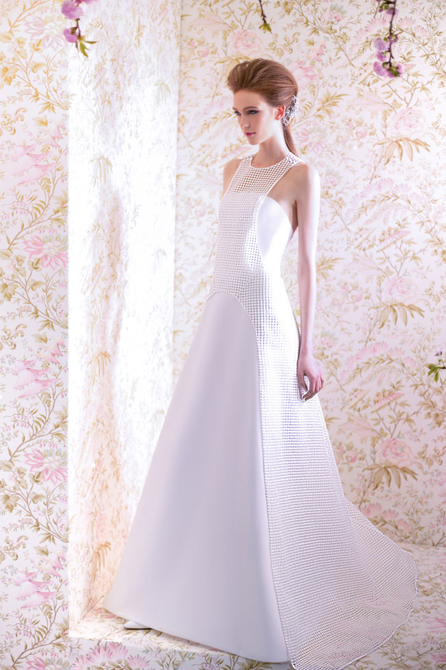 ANGEL SANCHEZ BRIDAL SPRING 2015 N11005