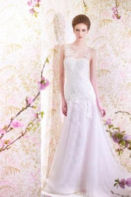 ANGEL SANCHEZ BRIDAL SPRING 2015 N11009