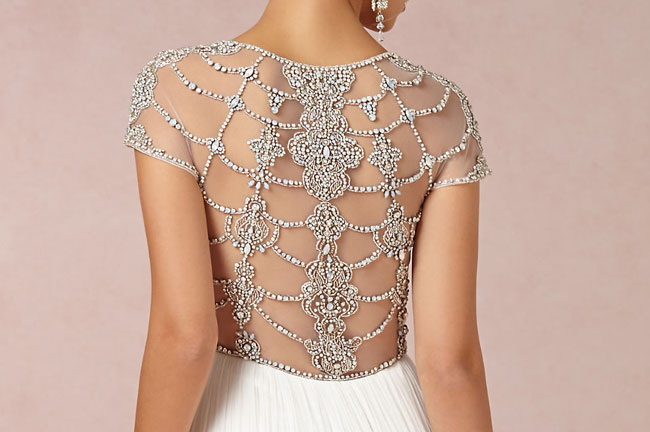 BHLDN Tallulah Gown Back Detail