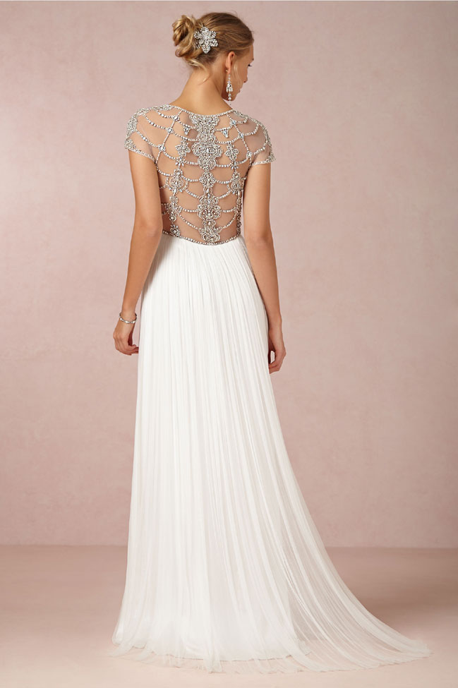 BHLDN Tallulah Gown Back