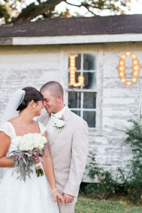 Private Residence Rustic Alabama Wedding On The Steps Of Great Great G...