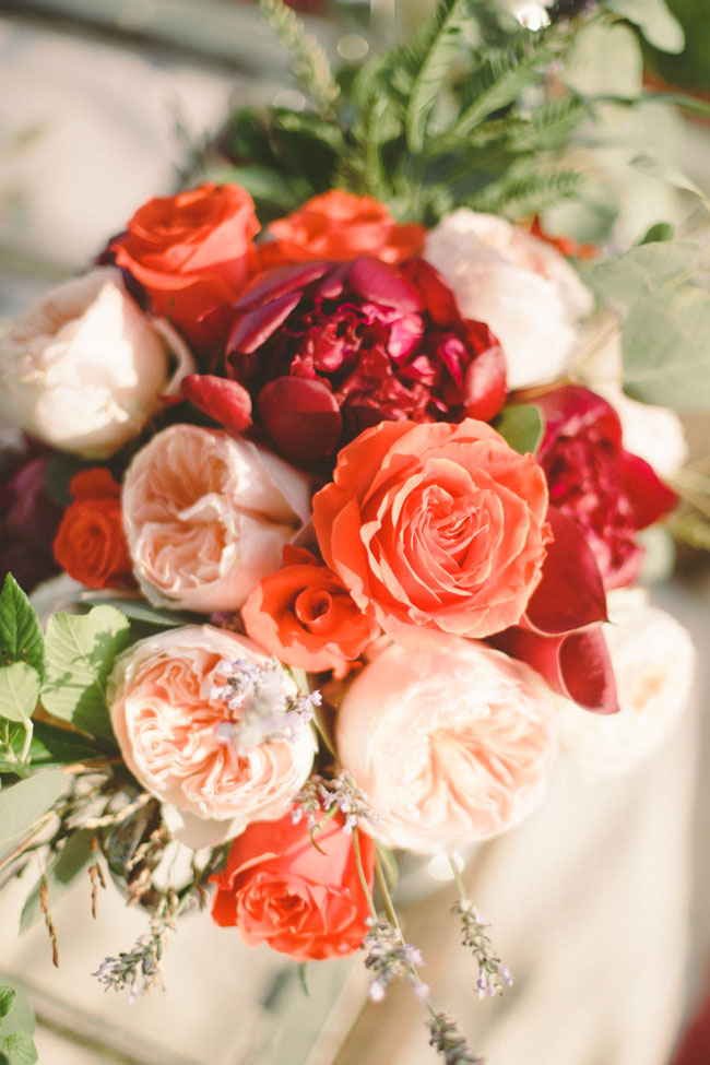 Free Spirited Farmland Wedding With Gorgeous Blooms In Mixed Pink Hues | Photograph by Cortney Smith Photography  https://storyboardwedding.com/free-spirited-farmland-wedding-gorgeous-pink-blooms/