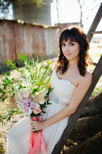 Modern Southern Belle Brides With A Soft Romantic Bohemian Vibe