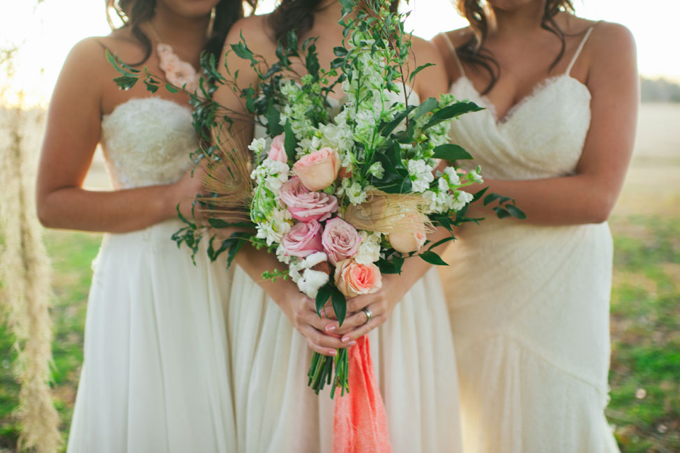 Modern Southern Belle Brides With A Soft Romantic Bohemian Vibe | Photograph by Rach Lea Photography  http://storyboardwedding.com/modern-southern-belle-brides-soft-romantic-bohemian-vibe/