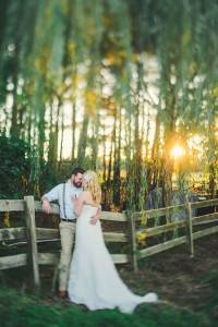North Carolina Private Residence Country Wedding Among The Weeping Wil...
