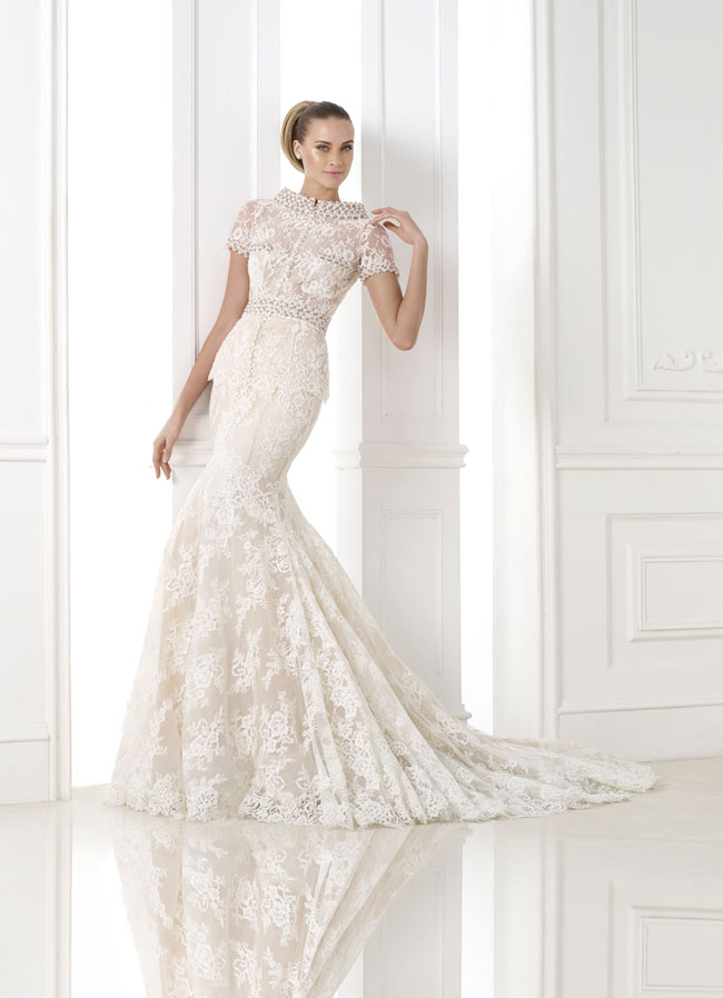 Pronovias 2015 Bridal Collection KALONICE