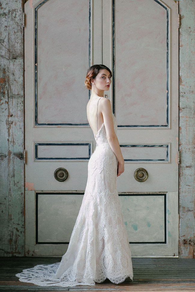 Sareh Nouri Spring 2015 Bridal Collection | Photograph by MILLIE BATISTA  https://storyboardwedding.com/sareh-nouri-spring-2015-bridal-collection/