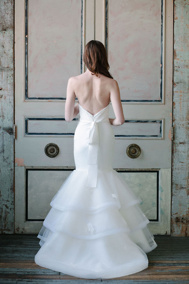 Sareh Nouri Spring 2015 Bridal Collection | Photograph by MILLIE BATISTA  http://storyboardwedding.com/sareh-nouri-spring-2015-bridal-collection/