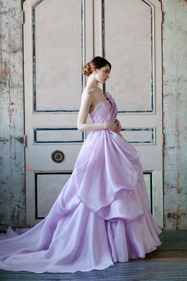 Sareh Nouri Spring 2015 Bridal Collection | Photograph by MILLIE BATISTA  https://storyboardwedding.com/sareh-nouri-spring-2015-bridal-collection/