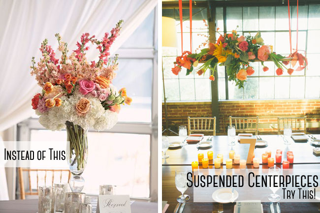 Suspended Centerpieces