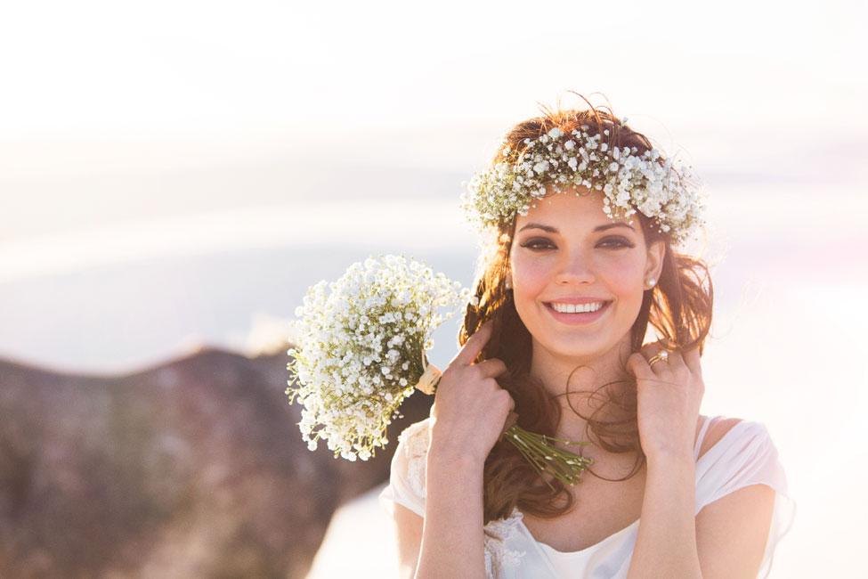 Boho Chic Desert Bride In New Mexico