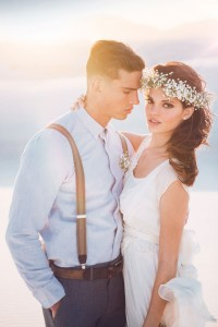 Boho Chic Desert Bride In New Mexico's White Sands National Monument