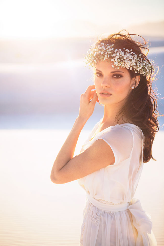 Boho Chic Desert Bride In New Mexico