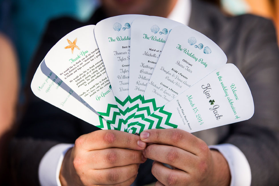 Hollywood Beach Florida Wedding Infused With Irish Beach Spirit | Photograph by Ricky Stern Photography  https://storyboardwedding.com/hollywood-beach-florida-wedding-irish-beach/