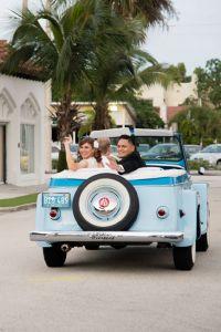 Retro Wedding In West Palm Beach Florida At Ragtops Motorcars