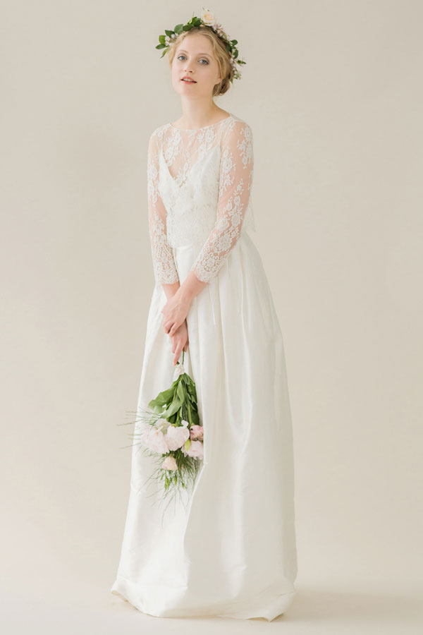 "Rue de Seine Bridal  New Bohemian Inspired ""Young Love"" Collection  http://storyboardwedding.com/rue-de-seine-bridal-unveils-new-bohemian-inspired-young-love-collection/"