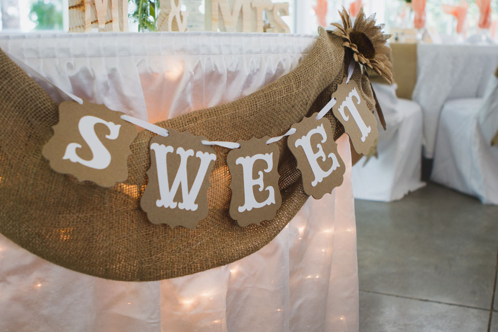 Indie Rustic Garden Wedding At Florida